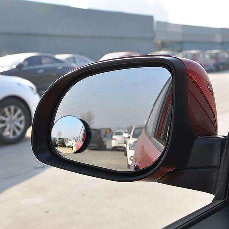 2PC espelho espelhos 360º retrovisor angulo morto ponto cego segurança