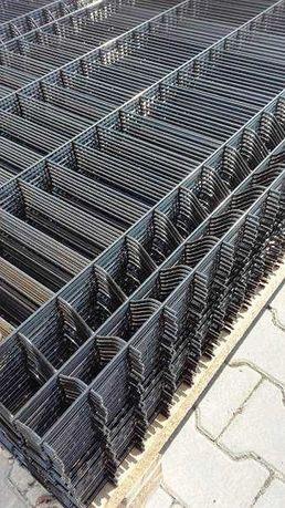Panel ogrodzeniowy czarny Fi4 1530x2500 mm