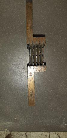 Bocznik pomiarowy , 60mV / 1000A