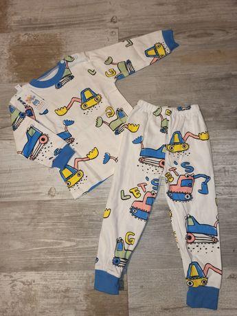 Nowa piżama, piżamka chłopięca dwuczęściowa 98/104