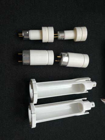 Komplet uchwytów adapterów leddy tube oryginalne Aquael