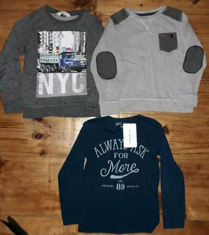 Bluza bluzka next h&m Reserved r 122/128