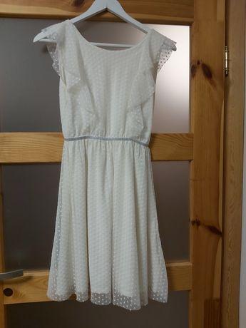 Sukienka biała 152/158
