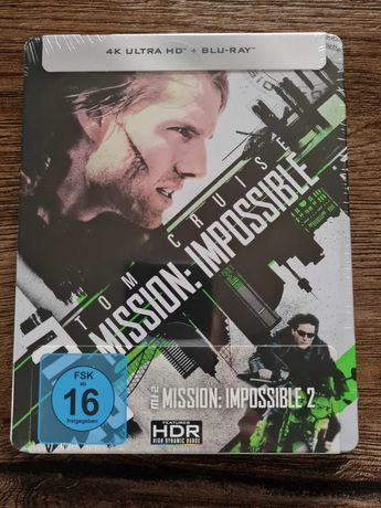 Mission Impossible 2 4K Steelbook