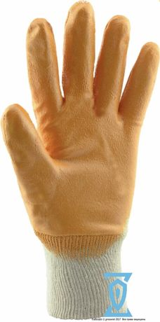 Перчатки рабочие Intertool Рукавички робочі нітрил