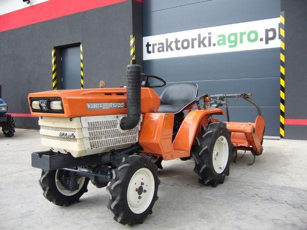 Traktorek , Ciągnik Ogrodniczy KUBOTA B1200 , 12 KM Import z Japonii