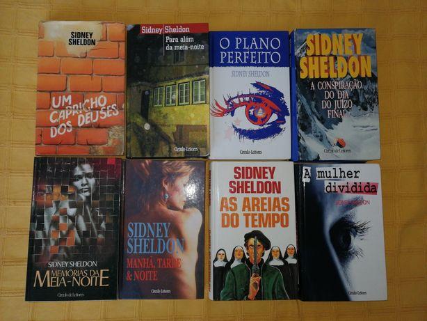 Livros diversos de Sidney Sheldon