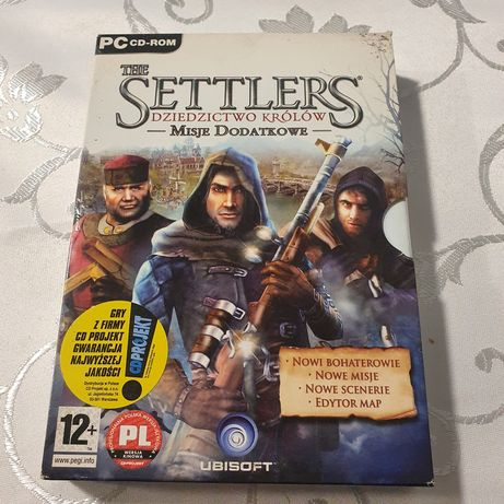 The Settlers - Dziedzictwo Królów gra PC misje dodatkowe