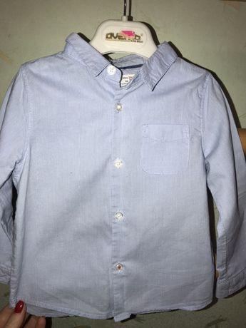 Рубашка zara на мальчика