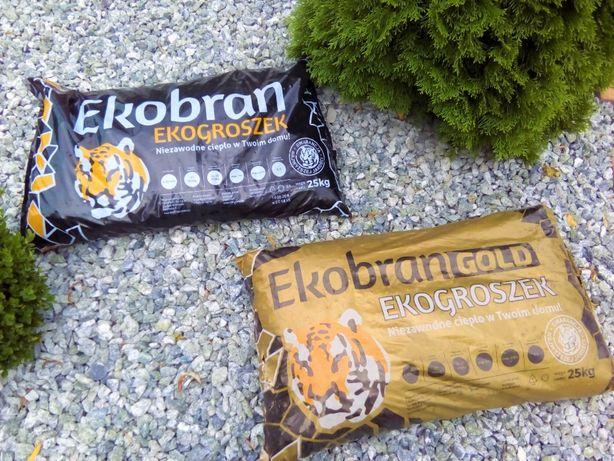 Eko groszek EKOBRAN Łowicz skład opału węgiel
