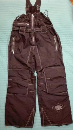 Spodnie snoboardowe, VESPER, rozm. XL, męskie, czarne, jak nowe