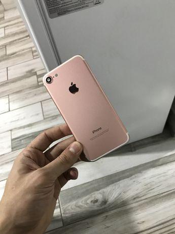 Корпус iphone 7 rose gold новый айфон 7 розовый розовое золото