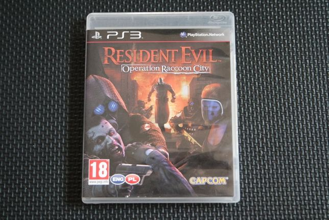 PS3 - RESIDENT EVIL Operation Raccoon City - PL - PlayStation 3