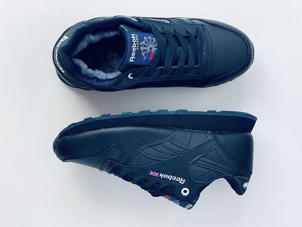 Reebok classic кроссовки зима зимние кросівки зимові рібок класік рибо