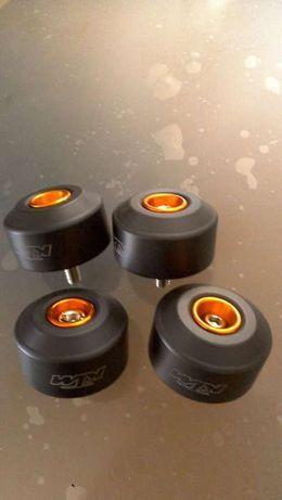 Cogumelos proteção para moto ktm duque 125, 200 e 390