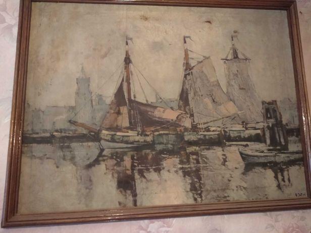Картина неизвестного художника масло.