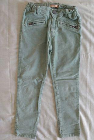 Calças verdes de menina da Zara, para 4 a 6 anos