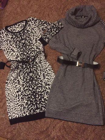 Платье,тёплое,вязанное H&M,юбка,кофта