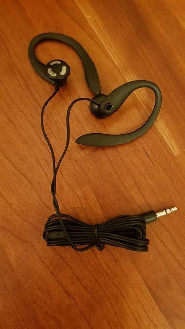 Auriculares com adaptador orelha