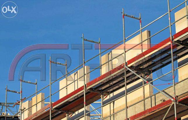 Rusztowanie Rusztowania Elewacyjne Nowe 250 m2 OKAZJA
