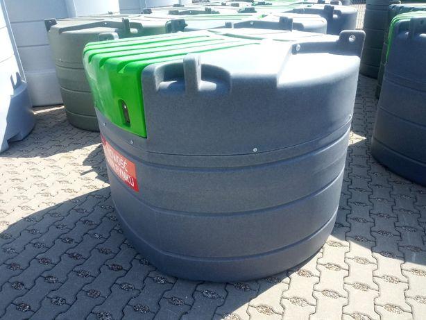 Zbiornik dwupłaszczowy do paliwa 1000, 1500 L