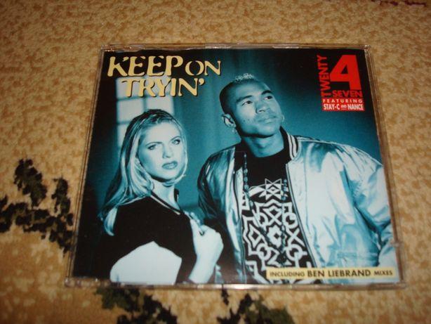 Płyty CD Tventy 4 Seven-Keep on Tryin