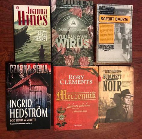 Kondor Clements Hedstrom Hines Maćkowski Hermans książki