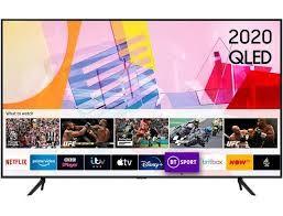 Телевізор SAMSUNG QE65Q60TAUXUA(PQI 3100 Гц, 4K UHD, HDR10+, ОС Tizen™