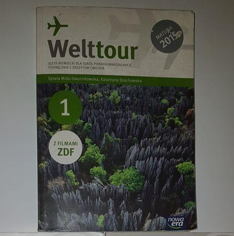 Welttour 1 Meine Welttour niemiecki ćwiczenia podręcznik