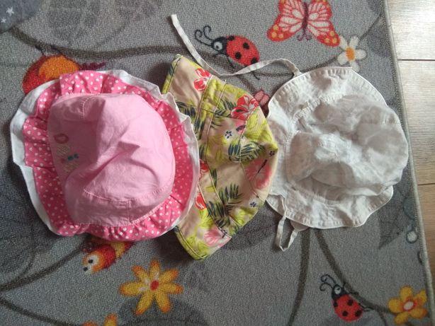 Kapelusze dziecięce 6-12 miesięcy