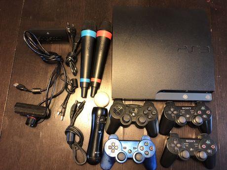 Konsola PS3 Sony + Super Zestaw