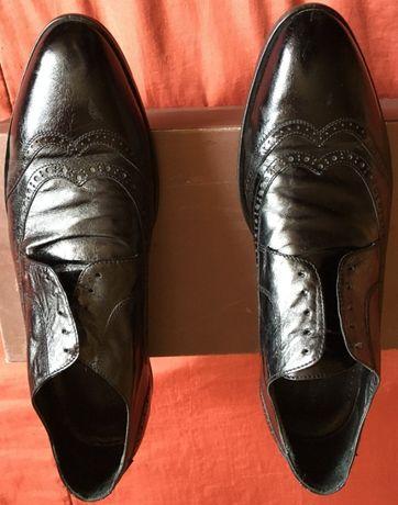 Туфли мужские кожаные Carlo Pazolini (цвет - черный) размер 42