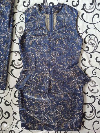 Комплект плаття + болеро