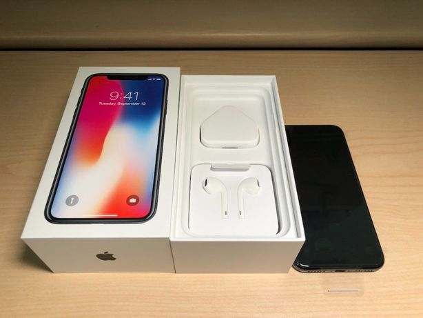 Apple iPhone X 64Gb Space Gray, Silver
