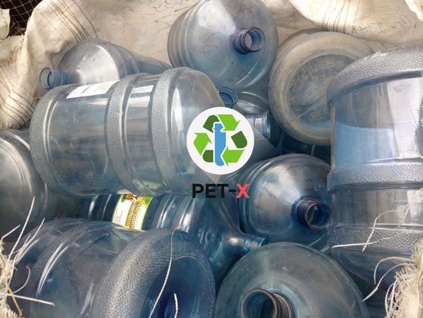 Купим отходы поликарбоната - лом бутылей 18,9 л