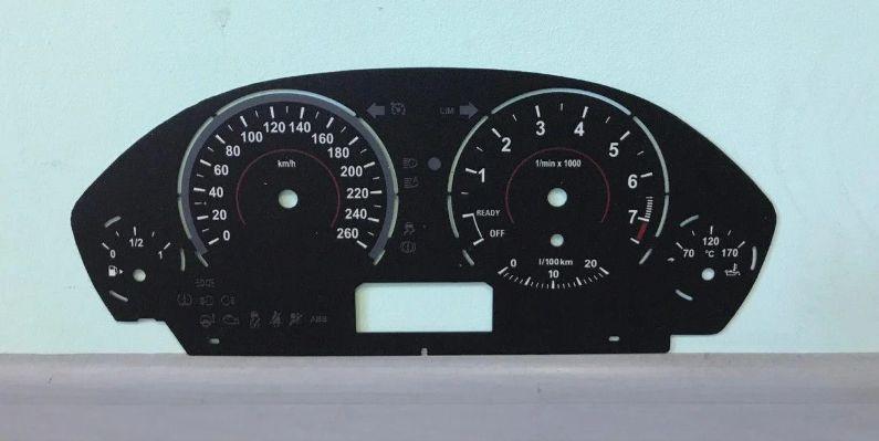 Шкала заменитель миль на километры БМВ Ф30 BMW X3 F25, F30, F31, F32 Киев - изображение 1
