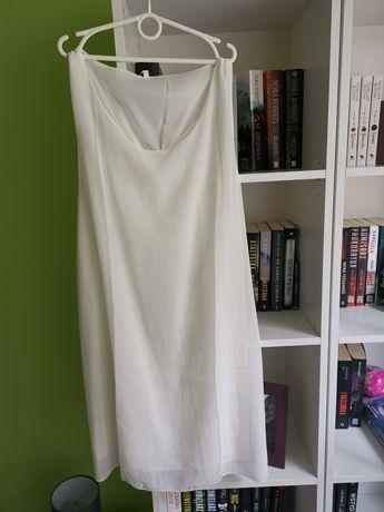 Biała sukienka, nowa