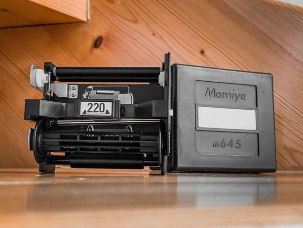 Mamiya M645 Kaseta wkład 220 z oryginalnym opakowaniem