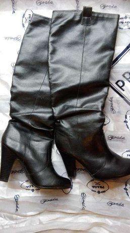 Buty/kozaki czarne New Look. Rozm.39