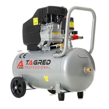 Kompresor olejowy, sprężarka powietrza TAGRED 50L 9Bar 300L/min TA301N