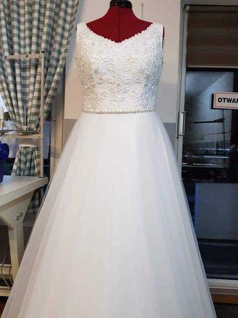 Przepiękna Suknia ślubna r 38-42