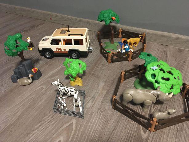 Playmobil zestaw Zoo Safari, auto