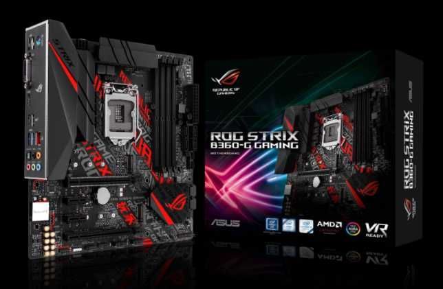 Motherboard Asus ROG Strix B360-G Gaming