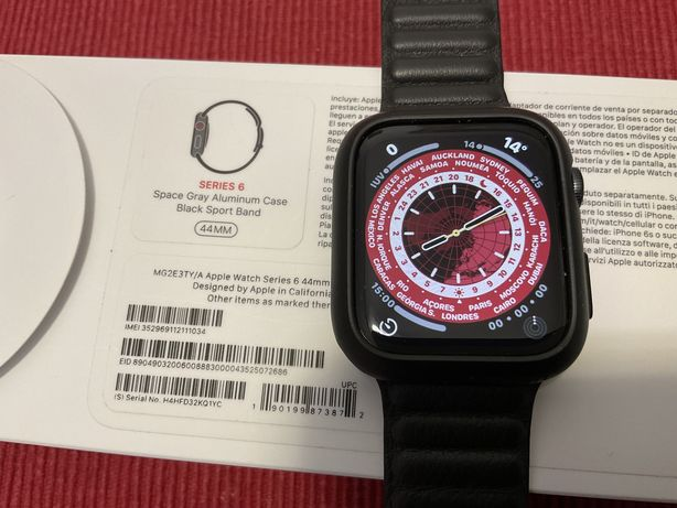 Apple watch 6 44mm GPS+Cell + LTE 4G