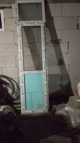 Двері балконні з новобудови