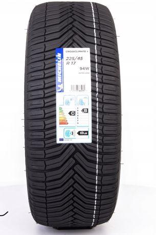 4x Michelin CROSSCLIMATE+ 225/45R17 opony wielosezonowe klasa premium
