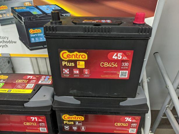 Akumulator Centra Plus CB454 12V 45Ah 330A P+ Kraków EB454