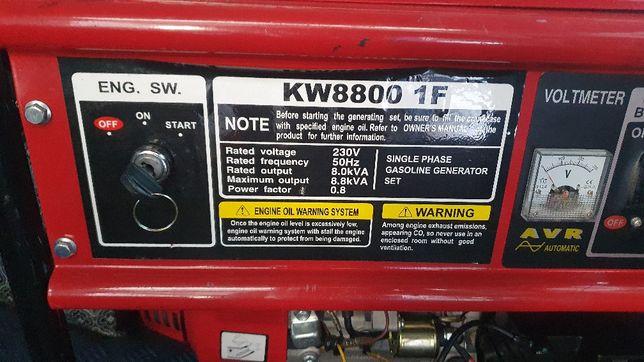 Agregat prądotwórczy Kraftwele 8800