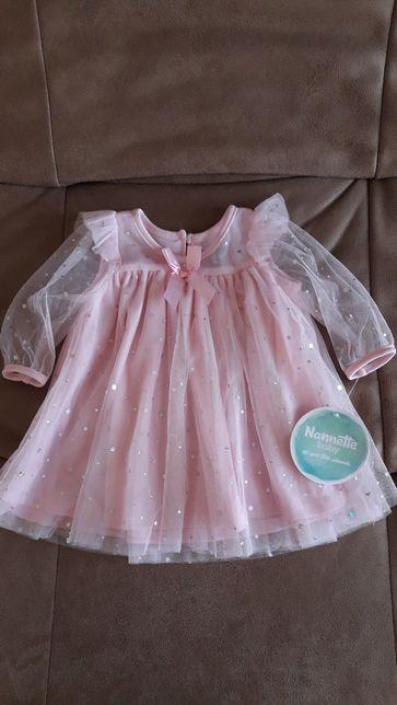 Шикарное платье для малышки с трусиками