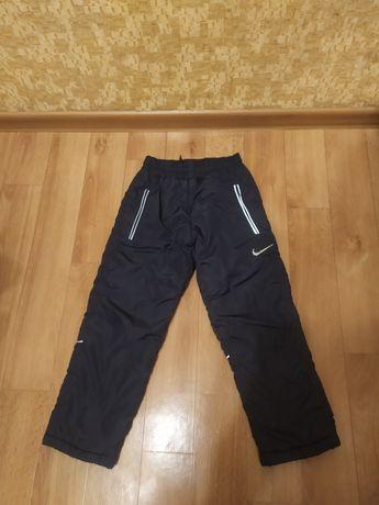 Теплые штаны на рост 110-122 см